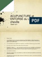 Entorse de La Cheville Et Acupuncture Dr Delahaix