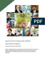 Queen of Green IPO - Jan 2014 UPDATE