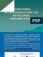 ESTACIONES HIDROMETRICAS 1