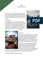 China Repere Istorice Si Politice