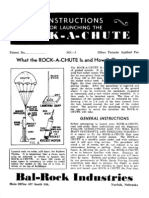 Instructions for Launching the Rock-A-Chute