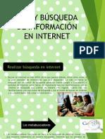 Uso y Busqueda de Informacion en Internet