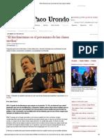 """Altamirano, """"El kirchnerismo es el peronismo de las clases medias"""""""