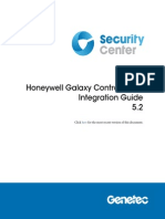 En.honeywell Galaxy Control Panel Integration Guide 5.2
