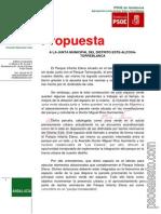 Propuesta - Zona Verde - JMD Este Enero 2014