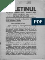 1943 Buletin Sf. Ep. Constanta, I, 13-14