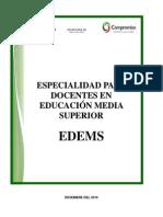 Normal Chalco Especialidad en EMS