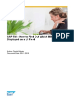 SAP TM - How to Determine the BO Field That is Displayed in a UI Field