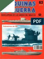 Maquinas de Guerra 062 - Submarinos Del Eje