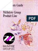 McIntyre Surfactant Catalog