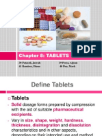 Chapter 8 Tablets