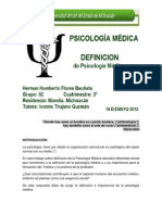 2.- Herman H Flores Bautista Definicion Psicologia Medica 180512