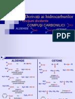 CO 9 Compusi Carbonilici - Aldehide + Cetone