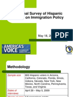Bendixen&AmericasVoice NatlSurvey HispVoters ImmPolicy