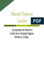 Nimrod Poderoso Cazador