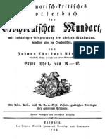 Adelung, Johann - Grammatikalisch-kritisches Wörterbuch A-E (1793)
