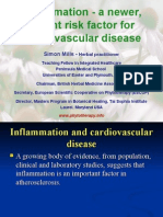 Cardiovascular Disease and Inflammation - Simon Mills