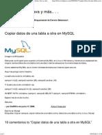 Copiar datos de una tabla a otra en MySQL _ Drw, Linux, Java y más.