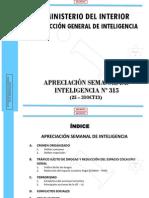 Mint - Apreciacion de Inteligencia 315 Del 25 Al 31ct13