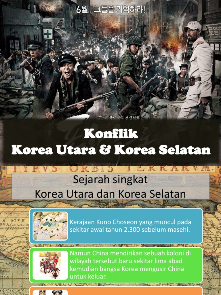 Konflik Korea Utara Dan Korea Selatan