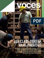 Voces N.6 Mundo del trabajo. La clase obrera va al paraíso...