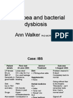 Diarrhoea and Dysbiosis - Ann Walker