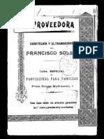 La Proveedora, 1898