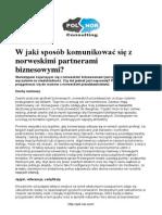 Komunikacja w biznesie - Norwegia.pdf