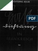 Adler, Wolfgang - Hassdichtung in Frankreich (1940)