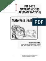 ARMY-FM 5-472 C2 [Materials Testing]