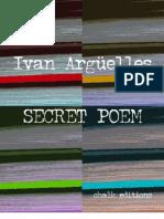 Ivan Arguelles - SECRET POEM