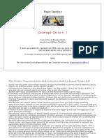 Biagio Cepollaro,Catalogo delle opere su carta,n.1,2008