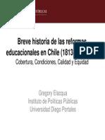 Breve Historia de La Educacion en Chile