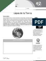 Ficha 12, Capas de La Tierra