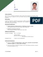 Anand Cv Sales Co-Ordinator