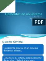 4. Elementos de Un Sistema