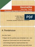 BAB 1 Geomatika