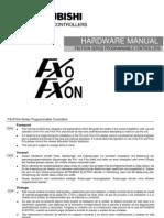 FX0N UserManual Hardware JY992D47501 P 2