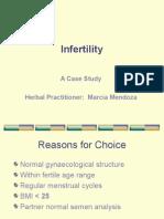 Case History - Infertility - Marcia Mendoza