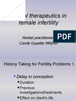 Herbal Therapeutics in Female Infertility - Carol Guyette