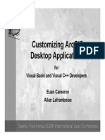 Customizing Arc Gis Desktop