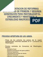 Implementacion Reformas Economicas Inflacion