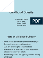 Childhood Obesity Presentation