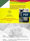 Ppt Journal Reading stase anestesi