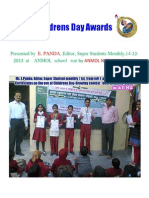 Childrens Day Awards