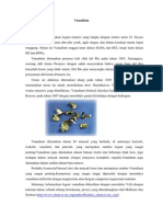 Vanadium, Kromium, Dan Nikel