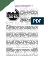 Manifiesto Red Internacional Por La Despatologizacion