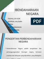 PERBENDAHARAN NEGARA