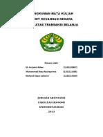 Audit Atas Transaksi Belanja