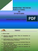 Curso Proceso de Toma de Inventario 2009-h